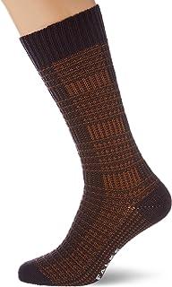 FALKE Socken Longevity Kaschmir Wolle Herren beige grün viele weitere Farben verstärkte Herrensocken mit Muster atmungsaktiv kariert rustikal 1 Paar