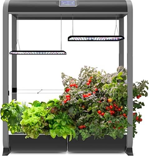 AeroGarden Farm 24XL, w/Salad Bar Seed Kit, Black