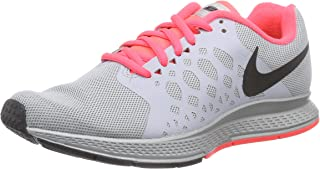 Women's Zoom Pegasus 31 Flash Running Shoes Grey/Pink/Black Color Size 6 US