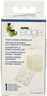 Fluval Hagen Edge Foam Pad and BioMax Renewal Kit, 3PACK
