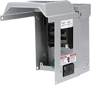 Siemens WF2060GFCI 60 Amp Fusible AC Disconnect with GFI Receptacle