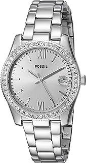 Women's Scarlette Stainless Steel Glitz Quartz Watch