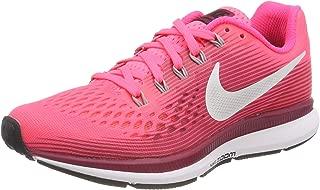 Women's Air Zoom Pegasus 34 Running Shoe (5.5 B US, Racer Pink/Vastgrey)