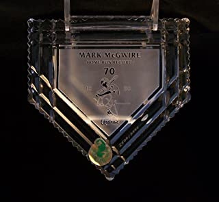Waterford Mark McGwire Home Plate Paperweight