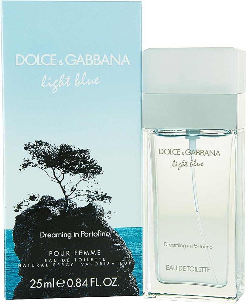 Dolce & gabbana light blue dreaming in portofino edt spray 25 ml 19946