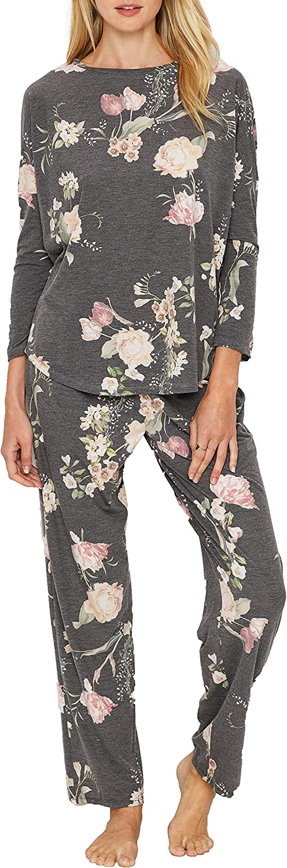 Floral Knit Pajama Set