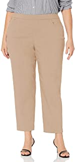 Alfred Dunner womens Petite Proportioned Short Allure Slim Pant Pants
