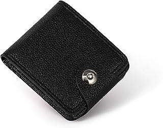 JY_shop Wallet for Men Anti-theft Wallet Credit Business Card & ID Cases Purse Money Cash Holder -black