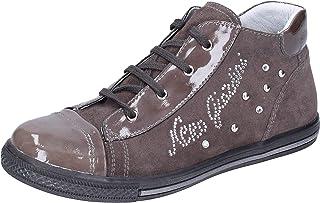 Nero Giardini Sneaker Bambina Pelle Scamosciata Grigio 33 EU