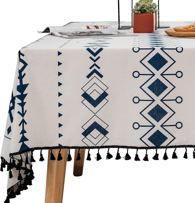 メーカー公式 Line お洒落 Rectangle Table Cover Heavy Waterproof Wr Weight Tablecloth