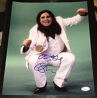 Ozzy Osbourne Signed Autograph Black Sabbath Legend Rare 11x14 Photo L74026 - JSA Certified