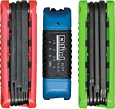 product image for EKLIND 25024 Ergo-Fold Fold-up Inch / MM Hex Key allen wrench & TORX star Combo (3 sets 24pc)