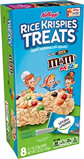 Rice Krispies Kellogg's Treats, M and M Minis, 5.64 Ounce