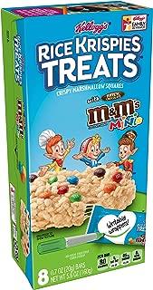 Rice Krispies Kellogg's Treats, M and M Minis, 5.64 Ounce