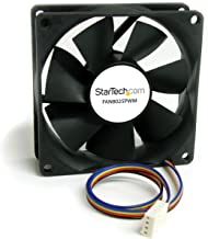 StarTech.com 80x25mm Computer Case Fan with PWM - Pulse Width Modulation Connector - computer cooling Fan - 80mm Fan - pwm Fan (FAN8025PWM)