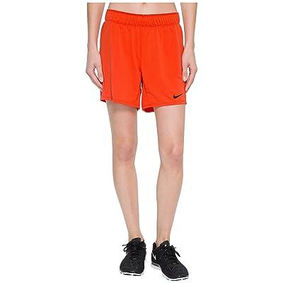 Nike Flex Attack Training Short (Habanero Red/Black) Women