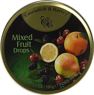 Cavendish & Harvey Fruit Candy Tin, Mixed, 5.3 Ounce