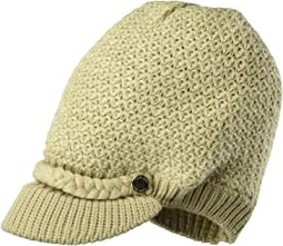 Textured Lurex Cabbie Hat