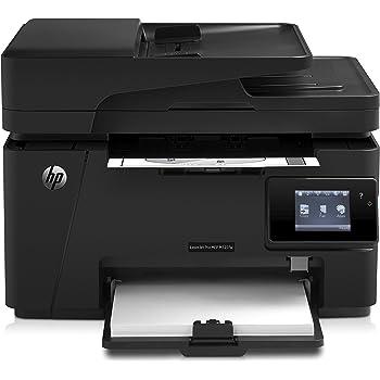 HP LaserJet Pro M127fw Laserdrucker Multifunktionsgerät (Drucker, Scanner, Kopierer, Fax, WLAN, HP ePrint, Airprint, USB, 600 x 600 dpi) schwarz