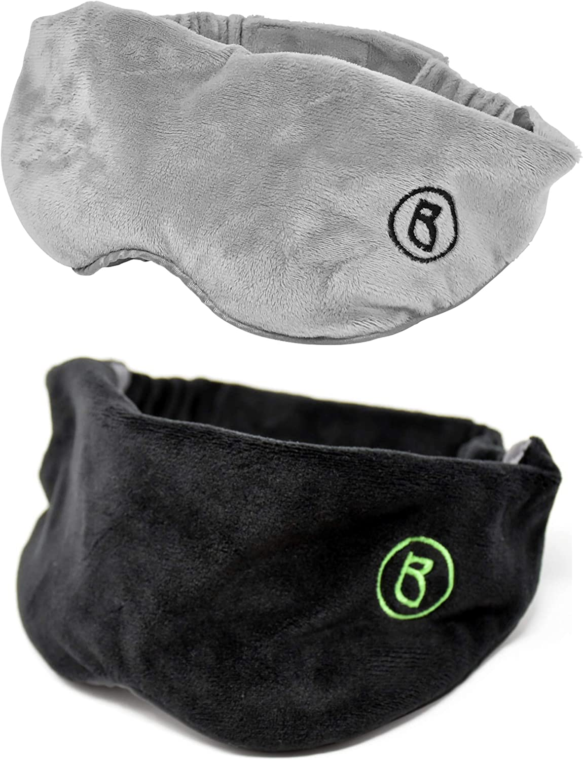 BARMY Large discharge sale Weighted Sleep New Shipping Free Shipping Mask 0.8lb 13oz Gray Black and Wei Bundle