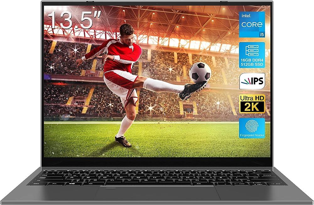 Bitecool 2021 nuovo pc portatile intel core i5-1035g1 16gb ram piu` 512gb ssd tastiera retroilluminata ColBook13.5euG1
