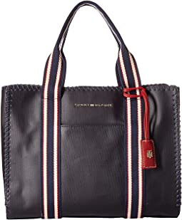 Tommy Hilfiger - Eliza Coated Canvas Tote