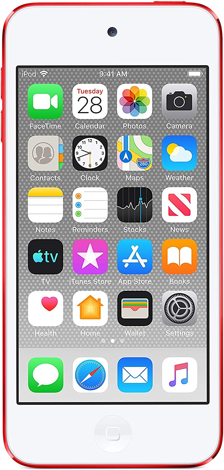 Apple iPod touch (32GB) - PRODUCT(RED) (Latest Model) (Renewed)