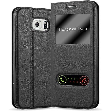 Cadorabo Hülle Für Samsung Galaxy S6 In Kometen Schwarz Elektronik