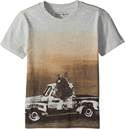 Lucky Brand Kids - Bear Truck Short Sleeve Tee (Little Kids/Big Kids)