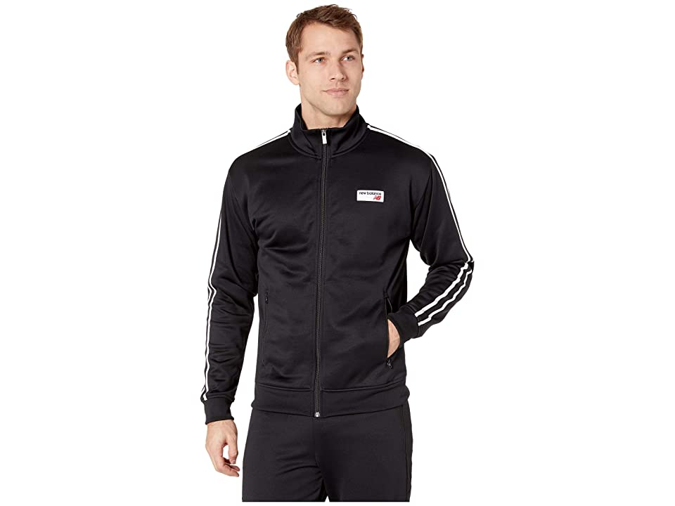 New Balance Athletics Track Jacket (Black) Men