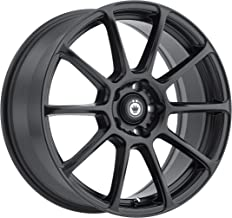 Konig RUNLITE Matte Black Wheel with Painted Finish (18 x 8. inches /5 x 100 mm, 35 mm Offset)