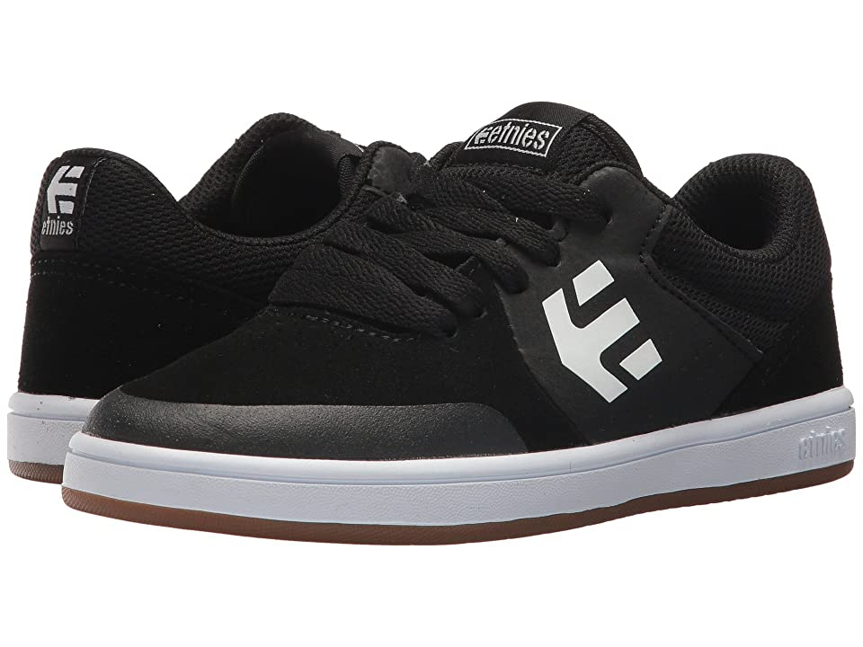 etnies Kids Marana (Toddler/Little Kid/Big Kid) (Black/Gum/White) Boys Shoes