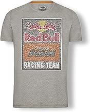 Red Bull KTM Mosaic Graphic T Shirt, Grey Mens Tshirt, KTM Factory Racing Original Clothing & Merchandise