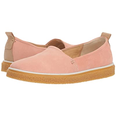 ECCO Crepetray Slip-On (Muted Clay Camel Nubuck) Women