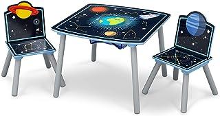 Delta Children Kids Wood Table Chair Set Storage, Space Adventure, Piece of 1