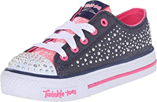 Kids Twinkle Toes Chit Chat Light-Up Lace-Up Sneaker