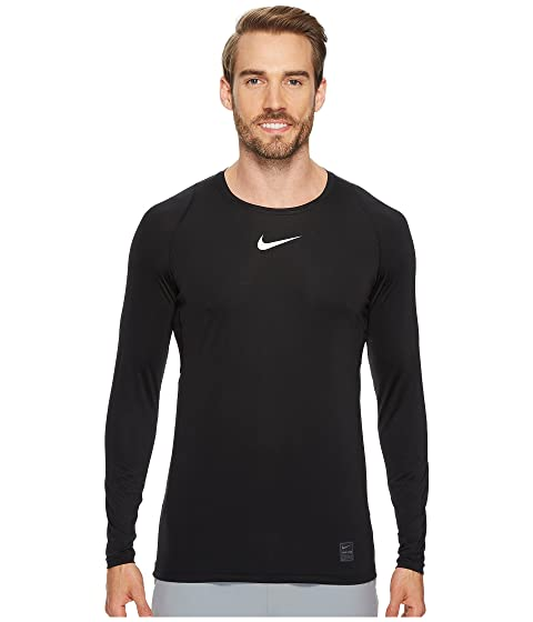 d506bd19 Nike Pro Fitted Long Sleeve Training Top at Zappos.com