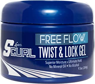 Luster's SCurl Free Flow Twist & Lock Gel
