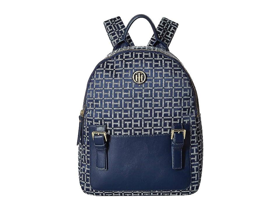 Tommy Hilfiger Imogen Backpack (Navy/White) Backpack Bags