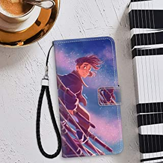 Case for iPhone 6/6S Plus Wallet with Stand Flip Card Credit Hold Full Body Protective Cover Jim Hawkins Treasure Island Animated Movie Wallpaper Wrist Chain Strap