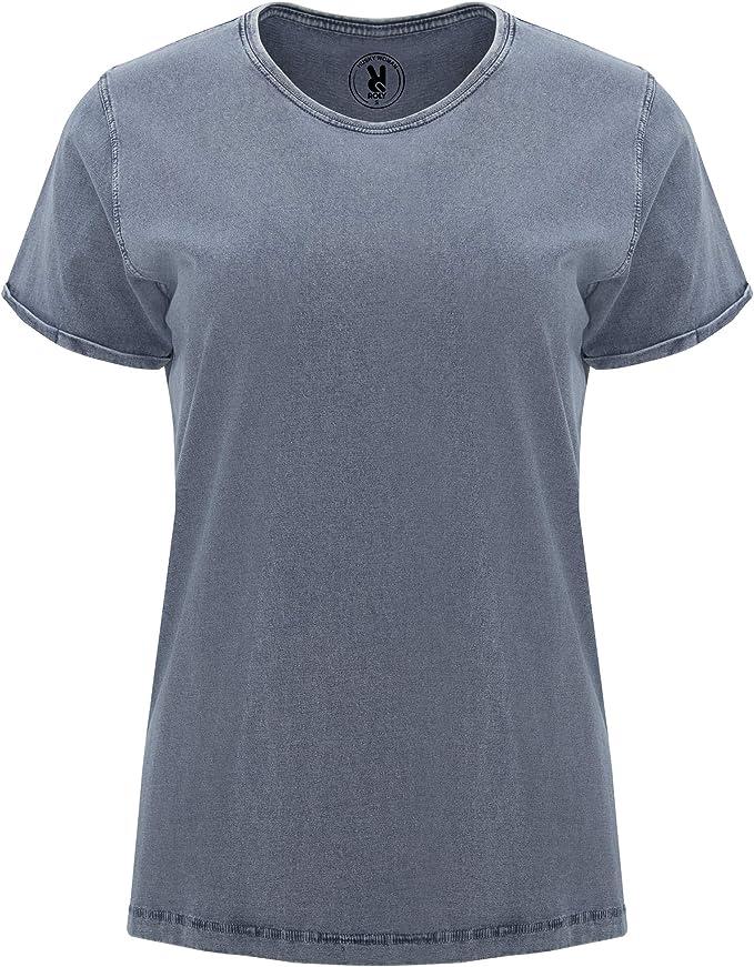 Paquete 4 | Camiseta Diseño Mujer | Manga Corta | Cuello ...