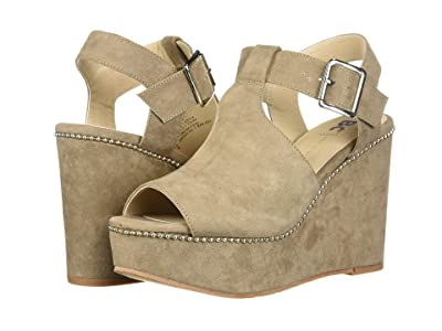 Seychelles BC Footwear by Seychelles Here We Go Now (Taupe V Suede) Women