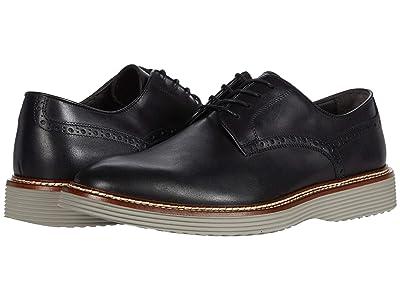 J&M Collection Casteel Plain Toe (Black) Men