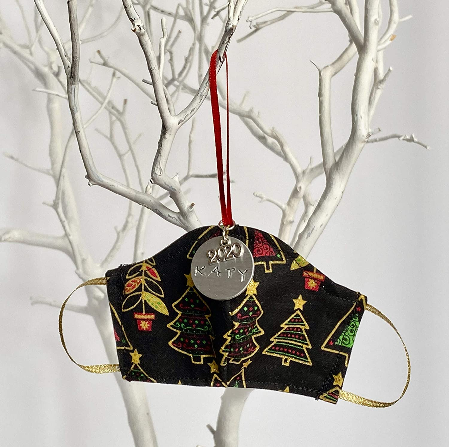 Christmas Trees Personalized Tree Face cheap All items free shipping Ornament Mask