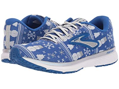 Brooks Revel 3 (Blue/White/Silver) Women