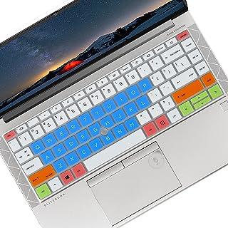 14インチ HP EliteBook 845 G8 & 845 G7、EliteBook 840 G7 ラップトップ、HP EliteBook 845 G8 & 845 G7、EliteBook 840 G7 ラップトップカバー - ホワイト ブルー