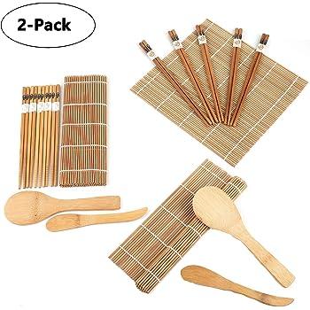 013 Chopsticks 10 pares de palillos chinos eßstäbchen madera usar palillos chinos bolsa de tela