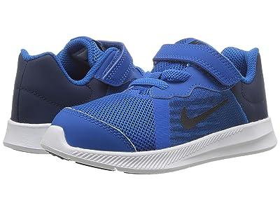 Nike Kids Downshifter 8 (Infant/Toddler) (Blue Nebula/Dark Obsidian/Navy/White) Boys Shoes