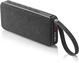 Senso SoundBox Bluetooth Speaker, Outdoor Portable Wireless Speaker with Built in Mic, Loudest Outdoor Speakers with 10W Stereo Sound, Waterproof IPX7 Rated, Enhanced Bass for Beach Shower Sports Home