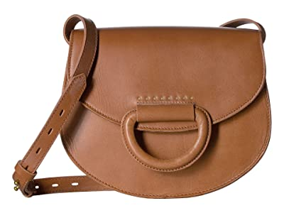 Madewell Westport Saddle Bag (Burnished Caramel) Handbags